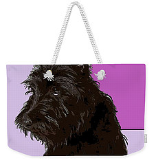 Scottish Terrier Weekender Tote Bag by George Pedro