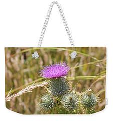 Scottish Thistle Weekender Tote Bag