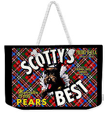 Scotty's Best Washington State Pears Weekender Tote Bag by Peter Gumaer Ogden