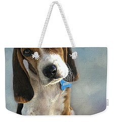 Weekender Tote Bag featuring the photograph Scout by Steven Richardson