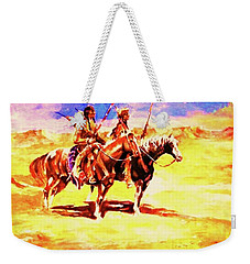 Scouting On The Plains Weekender Tote Bag