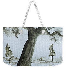 Scraggly Old Tree Weekender Tote Bag