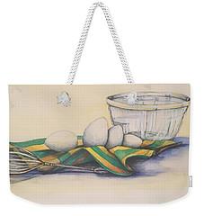 Scrambled Weekender Tote Bag