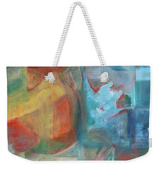 Grapefruit Moon Weekender Tote Bag