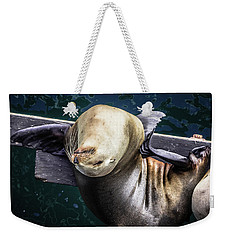 California Sea Lion - Scratch The Itch Weekender Tote Bag