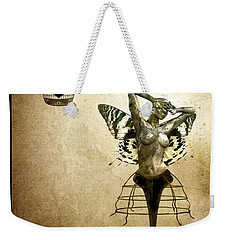 Scream Of A Butterfly Weekender Tote Bag