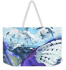Scream Of The Gulls Weekender Tote Bag