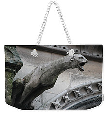 Screaming Griffon Notre Dame Paris Weekender Tote Bag