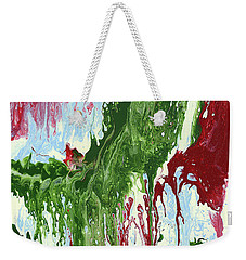 Screaming Weekender Tote Bag