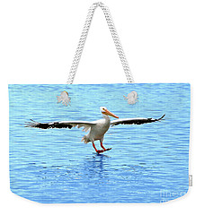 Screeching Halt Weekender Tote Bag by Mariarosa Rockefeller
