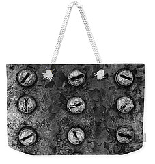 Screws On Utility Box Weekender Tote Bag