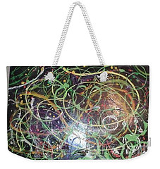 Scribble Weekender Tote Bag by Talisa Hartley