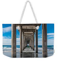 Scripps Pier La Jolla California Weekender Tote Bag