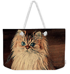 Scruffy's Portrait Weekender Tote Bag