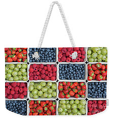 Scrumdiddlyumptious Weekender Tote Bag by Tim Gainey