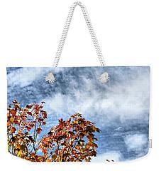 Scudding Sky Weekender Tote Bag