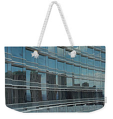 Sculpted Mirrors Weekender Tote Bag by Michiale Schneider