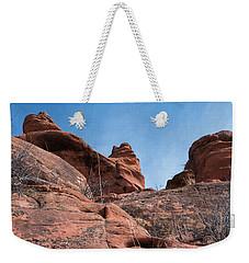 Sculpted Sandstone Weekender Tote Bag