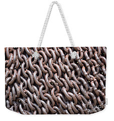 Sculpture Of Chain Weekender Tote Bag
