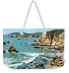 Sea And Cliffs Weekender Tote Bag