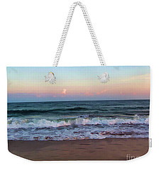 Weekender Tote Bag featuring the photograph Sea And Sky by Roberta Byram