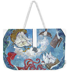 Sea Battle Weekender Tote Bag