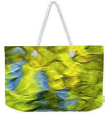 Sea Breeze Mosaic Abstract Weekender Tote Bag