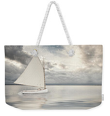 Weekender Tote Bag featuring the photograph Sea Change by Robin-Lee Vieira