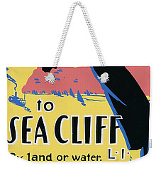 Sea Cliff Long Island Poster 1939 Weekender Tote Bag