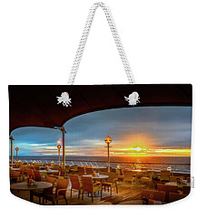 Weekender Tote Bag featuring the photograph Sea Cruise Sunrise by John Poon