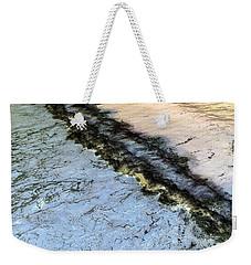 Sea Foam Pit Weekender Tote Bag