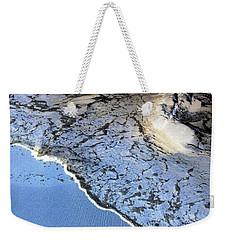 Sea Foam Shoreline Weekender Tote Bag