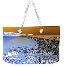 Sea Foam World Weekender Tote Bag