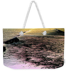 Sea Foam Waves Weekender Tote Bag