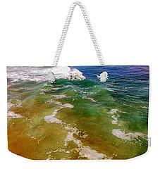 Colorful Ocean Photo Weekender Tote Bag