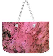 Sea Foam In Pink Weekender Tote Bag