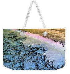 Sea Foam Pink Weekender Tote Bag