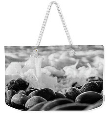 Sea Foam B-w Weekender Tote Bag