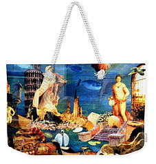 Sea Garden Weekender Tote Bag