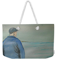 Sea Gaze Weekender Tote Bag
