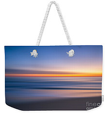 Sea Girt New Jersey Abstract Seascape Sunrise Weekender Tote Bag