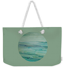 Sea Glass Weekender Tote Bag by Mary Wolf