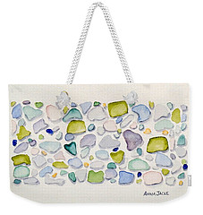 Sea Glass Puzzle - Follow Your Heart Weekender Tote Bag