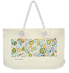Sea Glass Puzzle - Found Luck Weekender Tote Bag
