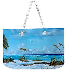 Sea Grass On The Key Weekender Tote Bag