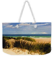 Weekender Tote Bag featuring the photograph Sea Grass by Sandy MacGowan