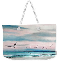 Sea Gulls On The Gulf Weekender Tote Bag