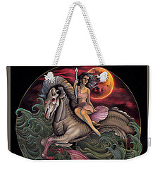 Sea Horse Weekender Tote Bag