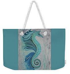 Sea Horse Visit Weekender Tote Bag