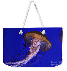 Weekender Tote Bag featuring the photograph Sea Jelly by Jeanette French